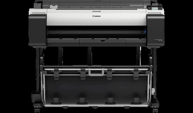 "CANON iPF TM-200 A1/24"" inkl. Printerstand"